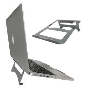 Supporto per laptop-Macbook stand- Metallo- Color argento